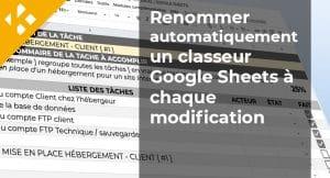 Read more about the article Renommer automatiquement un classeur Google Sheets à chaque modification