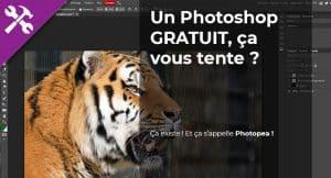 Photopea, un  clône de Photoshop Gratuit dans le Nuage !