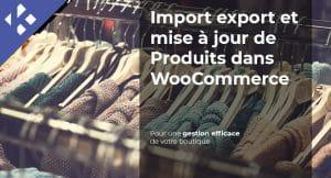Read more about the article Import export et mise à jour de Produits dans WooCommerce