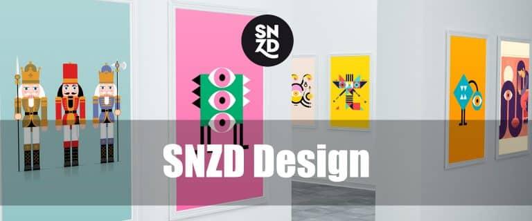 Un e-commerce pour SNZD (SNooZe Design)