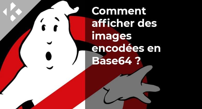 Comment afficher des images encodées en Base64 dans un fichier  HTML ?