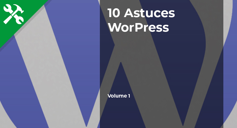 You are currently viewing 10 Astuces pour WordPress – Vol.1
